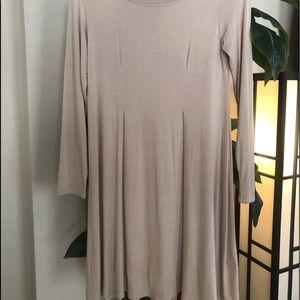 "Francesca's Collections Dresses - 3/4 Sleeve ""T-shirt"" Dress"